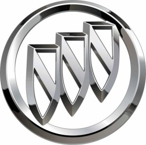 new buick tri shield logo sticker 18 inches