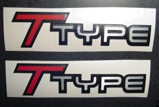 t-type fender decals