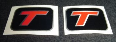 turbo t fender decals
