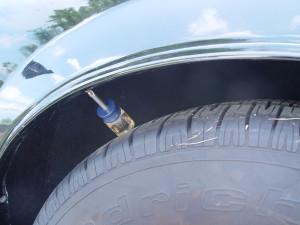 wheel molding