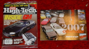 2007 GMHTP calendar