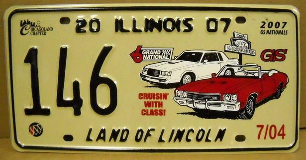 2007 plate