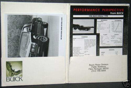 85 buick press kit 2