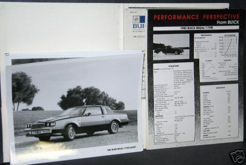 85 buick press kit 4