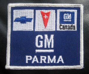 GM Parma Ohio patch