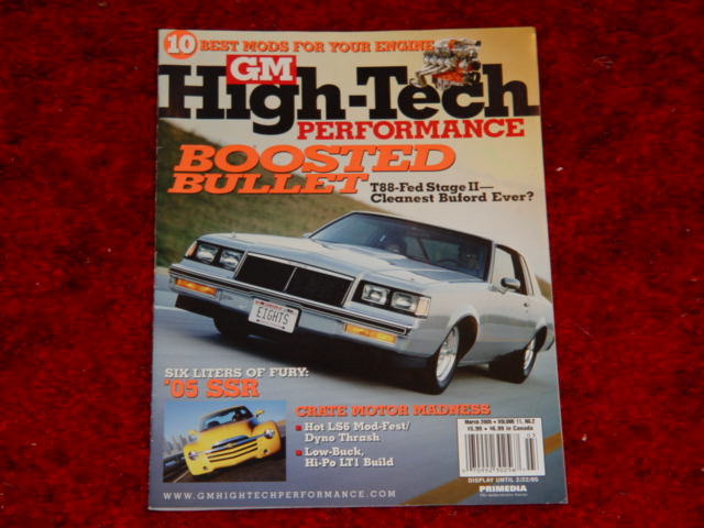 The G-Body Buick Regal in Magazines