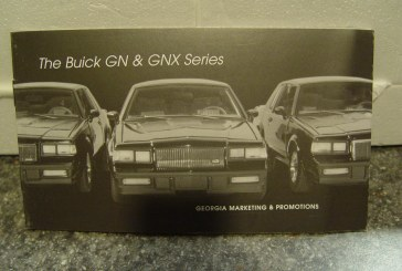 GMP 1:24 Scale Turbo Buick Series – Overview & Descriptive Booklet!