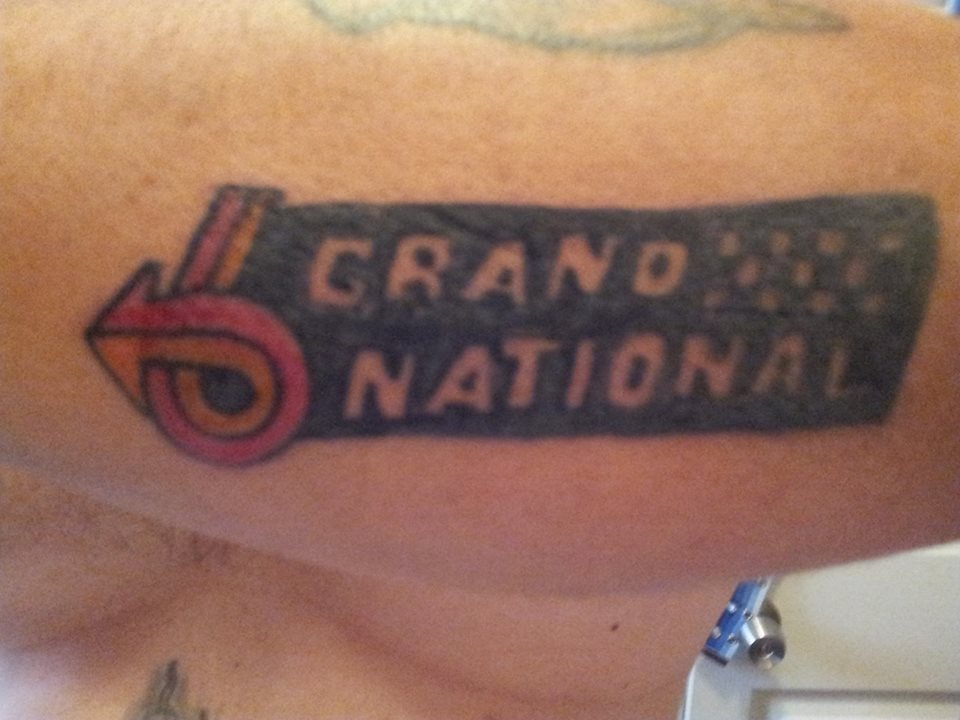 GN arm tattoo
