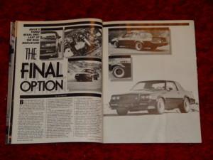 GNX in magazine