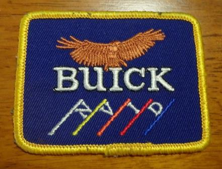 buick salesmans patch