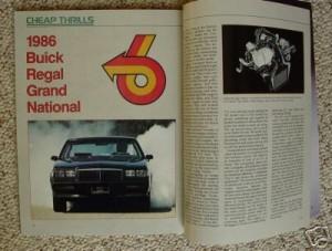 superauto illustrated july 86 mag