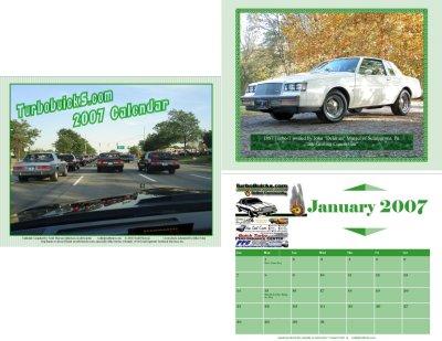 turbobuick.com calendar 2007