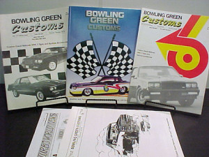 ASST BOWLING GREEN CATALOGS