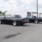 buick regals at the track