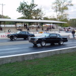 side by side buick racing