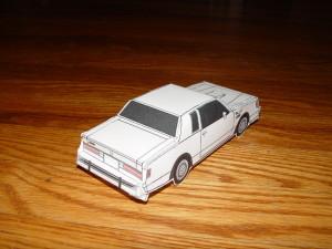 paper buick turbo regal