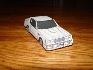 paper buick regal