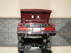 GMP 1986 buick t-type dark red