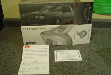 GMP 1:24 Scale Turbo Buick Series – 1987 Buick Grand National
