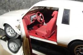 GMP 1:24 Scale Turbo Buick Series – 1987 Regal Turbo T white