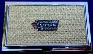 buick biz card holder