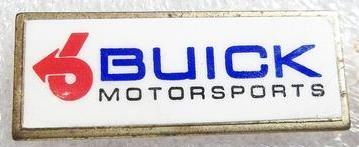 buick motorsports lapel pin
