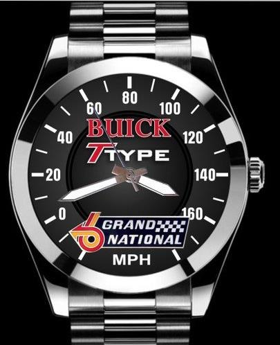 buick t-type grand national speedometer watch