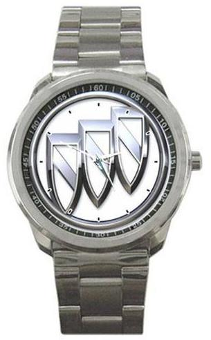buick tri shield logo watch