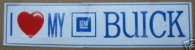 GM Buick sticker