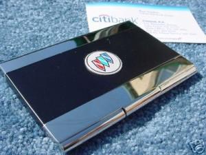 buick tri shield biz card holder