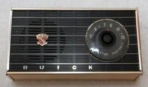 1959 Buick Transistor Portable Radio