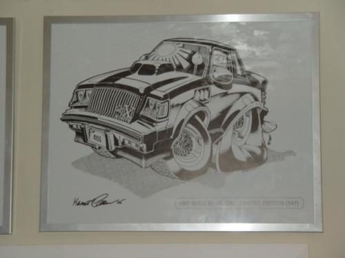 1987 Buick Regal GNX print