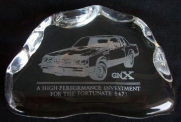 Buick Grand National GNX Paper Weight