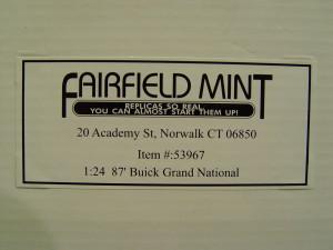 fairfield mint buick regal
