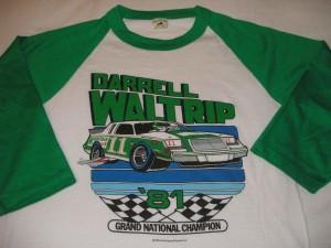 Darrell Waltrip NASCAR 1981 Grand National Champion Shirt