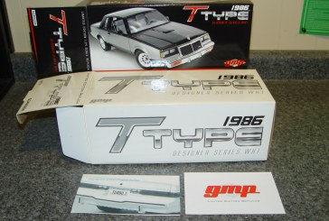 GMP 1:24 Scale Turbo Buick Series – 1986 Buick Regal T-type WH1