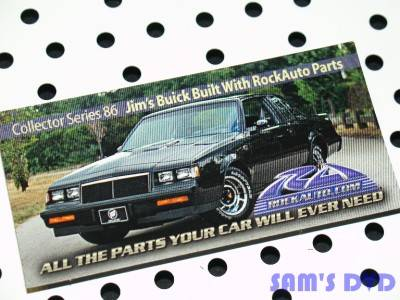 RockAuto Collector Series Magnet 1986 Buick Grand National