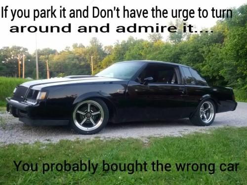 admire my car