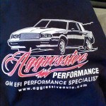 aggressive-performance shirt