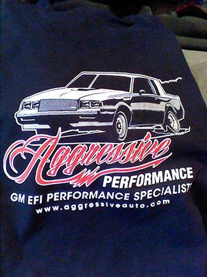 aggressive-performance shirt