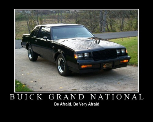 be afraid of buick v6