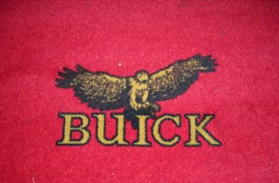 buick auto show rug 12x20 2