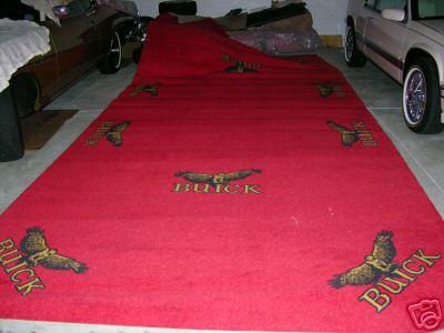 buick auto show rug 12x20