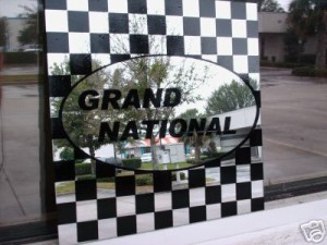 buick grand national 12 x 12 mirror