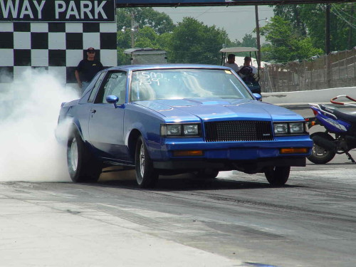 buick regal burnout