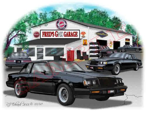 custom gnx garage