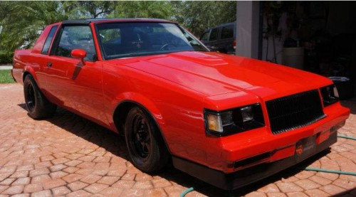 custom red paint