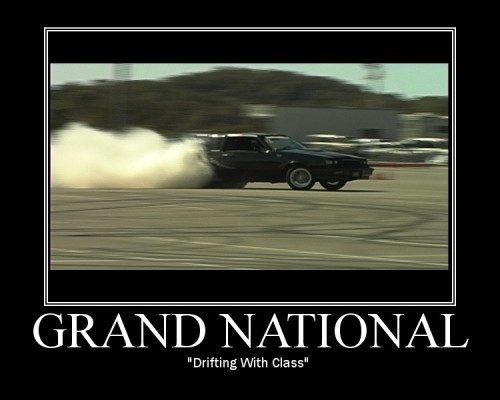buick drifting with class