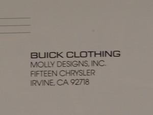 buick clothing