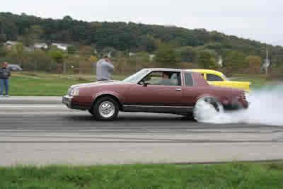 smoking the tires